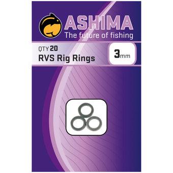 Ashima Ashima Stainless Steel Rig Rings 3 mm