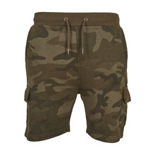 House of Carp Camo Terry Cargo Short Pants