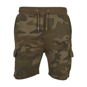 House of Carp Camo Terry Cargo Short Pants
