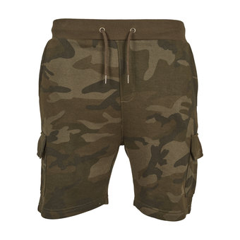 House of Carp House of Carp Camo Terry Cargo Shorts