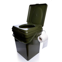 RidgeMonkey CoZee Toilet Seat + Modular Bucket 30 LTR