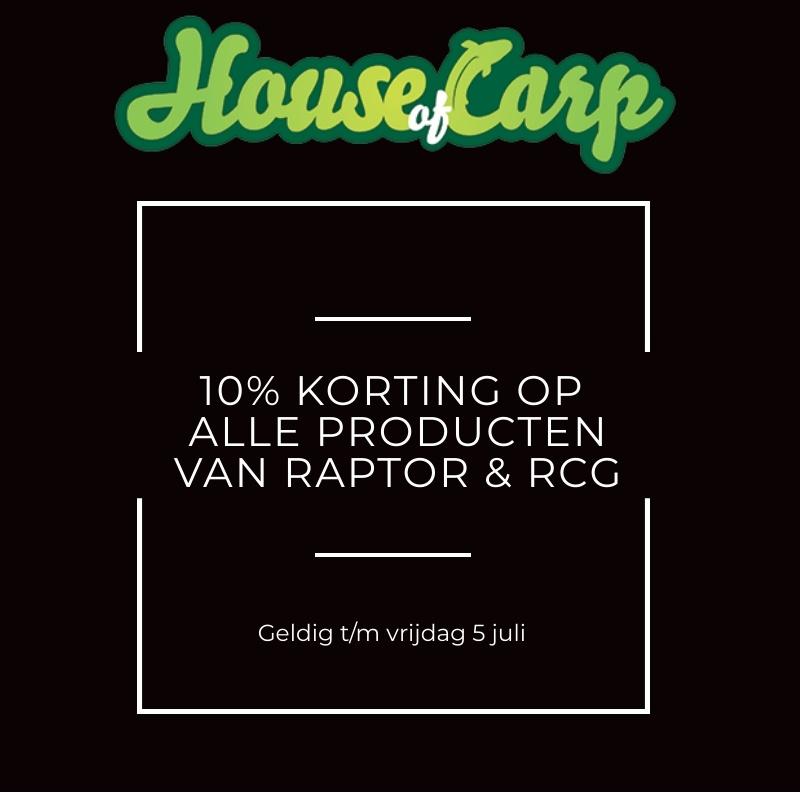 Introductie Raptor & RCG Carp Gear - Deel 1