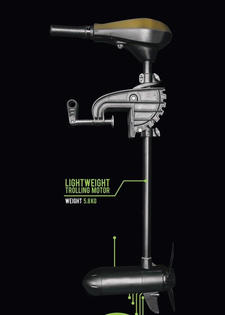 Pro Line Lightweight Trolling Motor 12V 35LB