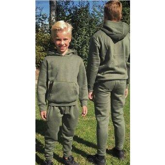 House of Carp Haus des Karpfen Karpfen Kinderbekleidung   Grüner Jogginganzug für Kinder