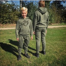 House of Carp Mirror Carp Jogging Suit Kids - Green