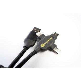 RidgeMonkey RidgeMonkey USB-A To Multi Out Cable 2m