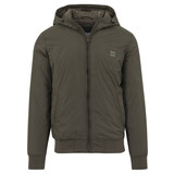 Hooded Windbreaker Green