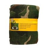 House of Carp Camo Burlap Woodland