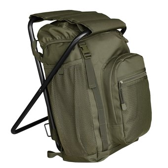 Backpack With Chair - Green