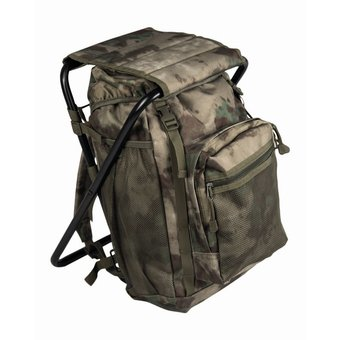 Backpack With Chair - Camo