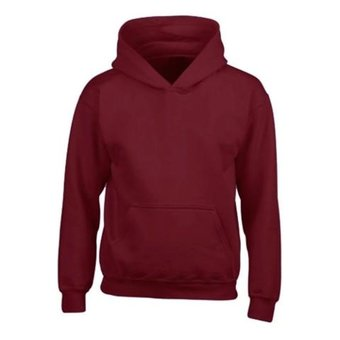 House of Carp Hoodies Without Print - Bordeaux Red