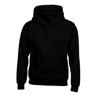 House of Carp Hoodies Without Print - Black
