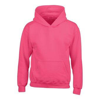 House of Carp Hoodies ohne Aufdruck - Bright Pink