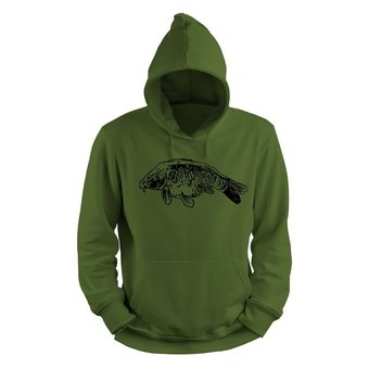 House of Carp Fully Scaled Carp Hoodie