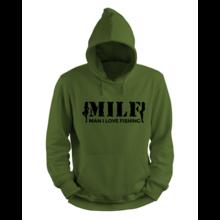 MILF Hoodie - Zwart