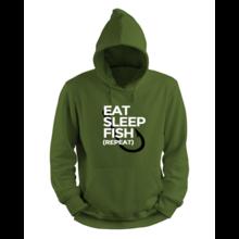 House of Carp Essen, schlafen, fischen, wiederholen - Hoodie