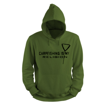 House of Carp Carpfishing Is My Religion Hoodie | House of Carp - Karperkleding