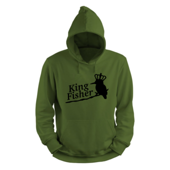 House of Carp De ijsvogel - Koning onder de vissers | King Fisher Hoodie | Karper kleding