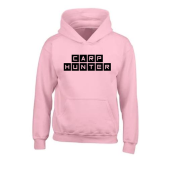 House of Carp Carp clothing - Passion for the search for carp Carp Hunter - Pink Hoodie