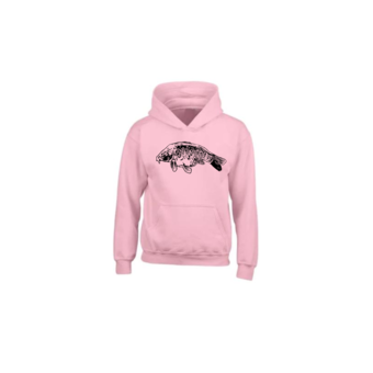 House of Carp Fully Scaled Karper Hoodie Roze
