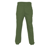 House of Carp Jogginghose mit Reißverschlusstaschen - Grün