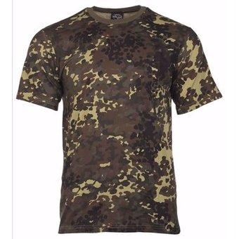 House of Carp House of Carp - T-Shirt met flecktarn camouflagepatroon