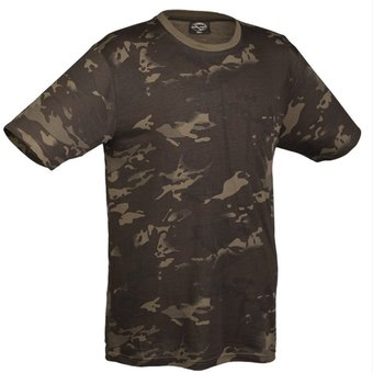 House of Carp House of Carp - T-Shirt met Multitarn camouflagepatroon