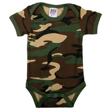 House of Carp Camo Baby Romper