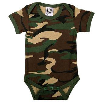 House of Carp Camouflage rompertjes voor baby's | Karperkleding voor kids en baby's