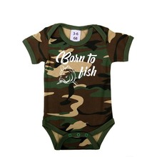 House of Carp Born to Fish - Romper Wit