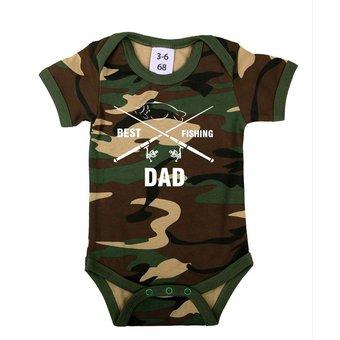 House of Carp Babykleding |  Baby romertje -  Best Fishing Dad