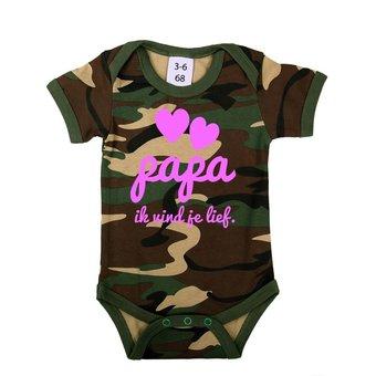 House of Carp Babykleding | Papa ik vind je lief - Romper