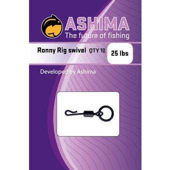 Ashima Ashima | Ronny rig swivels met dunne diameter voor bewegingsruimte