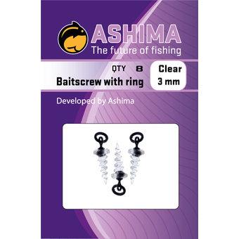 Ashima Ashima Tackle | Köderschraube mit einzigartigem Ring mit vielseitiger Verwendbarkeit