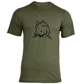 House of Carp Haus des Karpfen Angry Carp T-Shirt