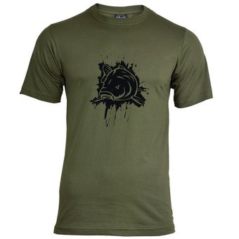 House of Carp Splash T-Shirt - Schwarz