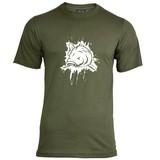 House of Carp Splash T-Shirt - Weiß