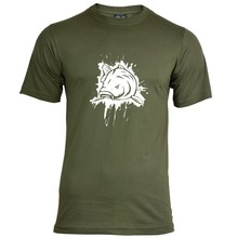 House of Carp Splash T-shirt - Wit