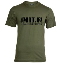 House of Carp MILF T-Shirt - Schwarz