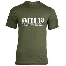 House of Carp MILF T-Shirt - Weiß
