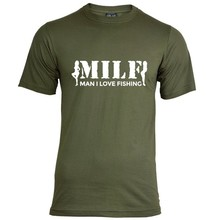 House of Carp MILF T-Shirt - Wit