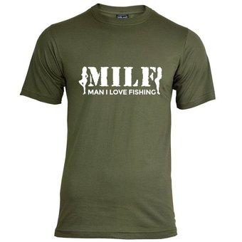 House of Carp MILF T-Shirt - Wit