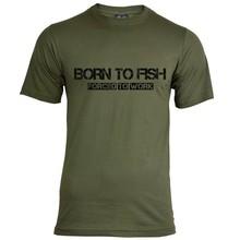 House of Carp Geboren, um T-Shirt zu fischen - Schwarz