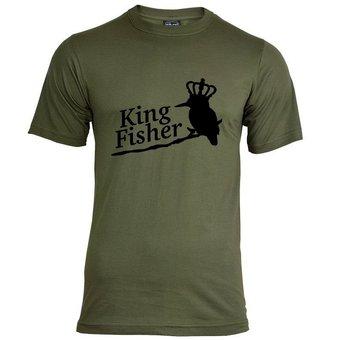 House of Carp Haus der Karpfen König Fischer T-Shirt