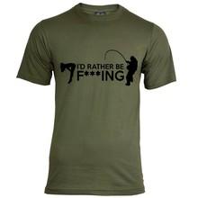 House of Carp Ich würde lieber T-Shirt ficken - Army Green