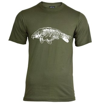 House of Carp Fully Scaled T-Shirt - Wit