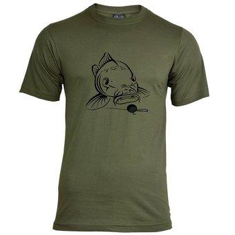 House of Carp Big Mouth T-Shirt - Schwarz