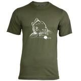 House of Carp Big Mouth T-Shirt - Weiß