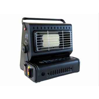 Sight Tackle Gas heater | The most suitable stove for a warm tent with fish