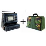 Portable Gas Heater + Bag - Combi Deal